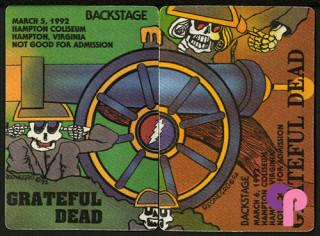 Hampton Coliseum, Hampton, VA 3/5-6/92