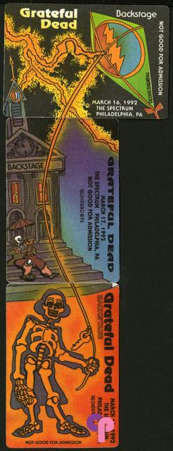 The Spectrum, Philadelphia, PA 3/16-18/92